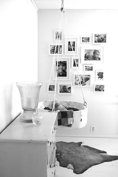 Creative baby room.  Gives new meaning to rock baby to sleep.  #PPBmothersday http://www.petunia.com/