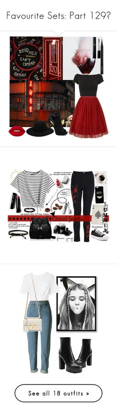 """""""Favourite Sets: Part 129❣"""" by moon-and-starss ❤ liked on Polyvore featuring Helmut Lang, Apt. 9, Off-White, Lime Crime, MAC Cosmetics, outfit, red, background, Dorothy Perkins and Kate Spade"""