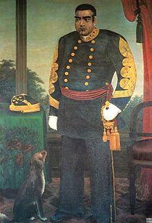 Saigo Takamori in uniform.