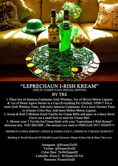 """""""LEPRECHAUN I-RISH KREAM"""" 