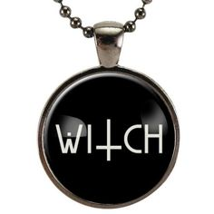 Goth Witch Necklace ($15) ❤ liked on Polyvore featuring jewelry, necklaces, gothic jewellery, pendant jewelry, gothic jewelry, goth necklace and gothic pendants
