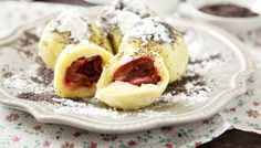 Švestkové knedlíky z bramborového těsta     Dům a byt Sweet, Food, Candy, Essen, Meals, Yemek, Eten