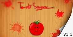 Tomato Squeeze - Touch Game ...  android, click, fun, game, hd, html5, ios, mac, mobile, mouse, tablet, tomato, touch, windows, word