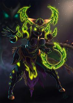 World Of Warcraft Game, World Of Warcraft Characters, Warcraft Art, Fantasy Characters, Wow Warlock, Van Life, Overwatch, Character Art, Fantasy Art
