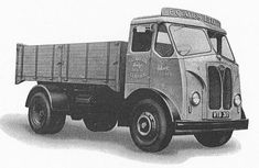 An Invincible 4-wheel high-sided lorry