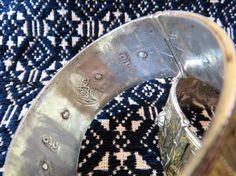 Moroccan Berber bracelets hallmarks - ethnic jewels