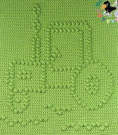 Ravelry: Farm Tractor Baby Blanket pattern by Marilyn Sehn