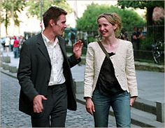 Julie Delpy and Ethan Hawke in Before Sunset Sunrise Midnight - Celine and Jesse http://www.ebay.com/itm/151034108744