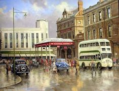 Central Station, Blackpool 1950s