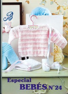 Muestras y Motivos Especial Bebes 24童装 - 紫苏 - 紫苏的博客 Baby Knitting Patterns, Baby Sweater Knitting Pattern, Kids Patterns, Knitting Stitches, Knitting Magazine, Crochet Magazine, Knitting Books, Knitting For Kids, Baby Jessica