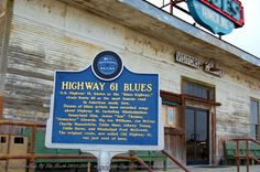 """Highway 61 To see this and other sites in the South, visit our web www.musicheritage.... For updates """"like"""" our FB page."""