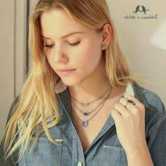 Meridian convertible necklace Can be worn as individual pendants or as a layered statement. Chloe + Isabel Jewelry Necklaces