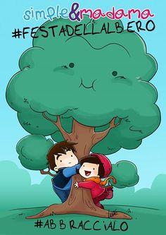 #FestadellAlbero #abbraccialo