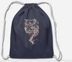 funny girl cat shirt design cat flowers 2020 Cotton Drawstring Bag ✓ Unlimited options to combine colours, sizes & styles ✓ Discover Drawstring Bags by international designers now! Shirt Design For Girls, Cat Years, Cat Ages, Cat Flowers, Cotton Drawstring Bags, Happy Socks, Cat Shirts, Girl Humor, Funny Cats
