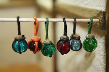 MIX LOT HANGING WITCH / WIZARD POTION BOTTLES - DOLL HOUSE - DOLL