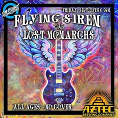 Live Music this Friday with Flying Siren (Progressive Rock) and Lost Monarchs (Classic Rock, Jamband) 6-9pm! #sandiego #sandiegoconnection #sdlocals #sandiegolocals - posted by Aztec Brewing Company https://www.instagram.com/aztecbrewery. See more San Diego Beer at http://sdconnection.com