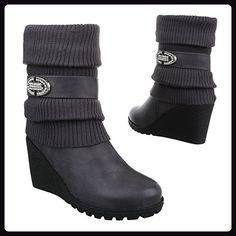 Ecco AUDE Damen Halbschaft Stiefel Schwarz BLACK 01001