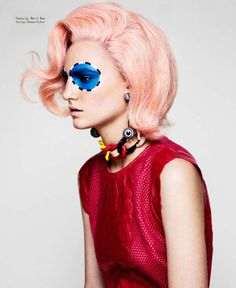Tie-Dyed Hair - Dazed & Confused Highlights Attention-Grabbing Rainbow-Colored Hairstyles (GALLERY)