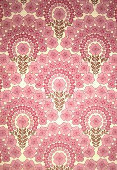 ピンクのヴィンテージ