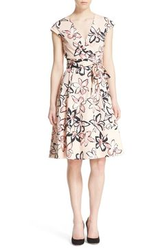 72669c00134 kate spade new york  tiger lily  print wrap dress available at  Nordstrom  New