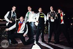 Best groomsmen ever, I married the most handsome green lantern!