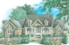 Home Plan The Churchdown by Donald A. Gardner Architects