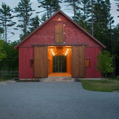 Timberframe Cedar Barn