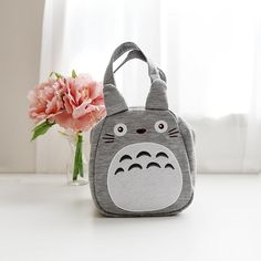 Very cute Totoro suede Mini - Bag  #SKATER #Simplebag