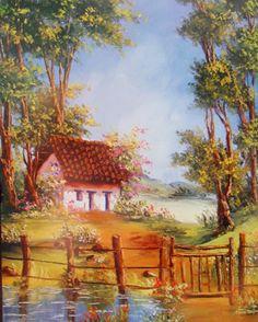 1000 images about casas casas casas on pinterest louis - Paisajes de casas de campo ...