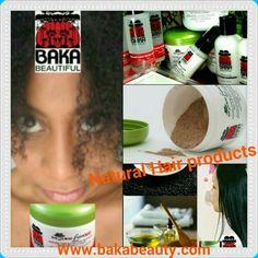 """#NaturalHairRelaxerKits #BlackHair #NaturalColor4Gray #HairRepair #NaturalSkinCare #BakaBeautifulCare <a href=""""http://www.bakabeauty.com"""