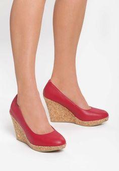 Pantofi cu platforma Reverse Rosii Espadrilles, Wedges, Shoes, Fashion, Shabby Chic, Espadrilles Outfit, Moda, Zapatos, Shoes Outlet