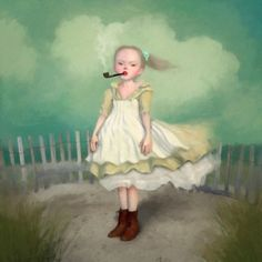 Ray Caesar (b1958 London; based in Toronto, Canada) | 'I think each of us makes a heaven or hell on this Earth, and the material we use is the stuff our lives are made of'... ~R.Caesar