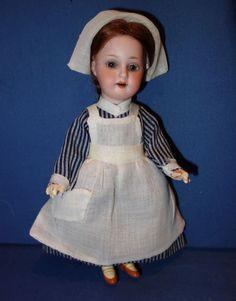 Armand Marseille 390 Petite Nurse Doll
