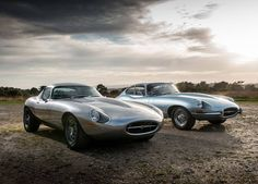 Eagle E-type and speedster, photos publIshed by V12 GT
