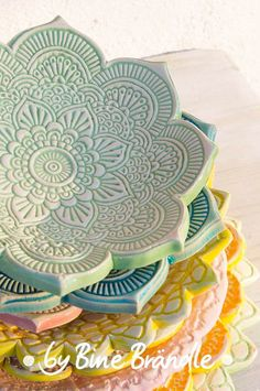 do pottery - Keramik Slab Pottery, Pottery Bowls, Ceramic Pottery, Thrown Pottery, Ceramics Projects, Clay Projects, Diy Clay, Clay Crafts, Cerámica Ideas