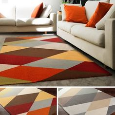 Shop for Hand-Tufted Asyut Wool Rug (4' x 6'). Get free shipping at Overstock.com - Your Online Home Decor Outlet Store! Get 5% in rewards with Club O!