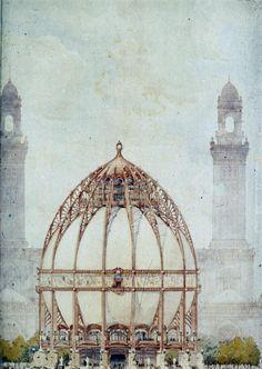 """Globe-Elisha Recluse"", 1897 | Designed by Louis Bonnier"