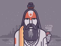 Aghori Sadhu byranganath krishnamani Give us a follow? we're new Use #graphicroozane for features on the page #گرافیک_دیزاین#گرافیک_روزانه#interface#mobile#design#ganges #ui#vector #webdesign#app#concept#vectorart #icondesign #inspiration#materialdesign#instaart#creative#dribbble#digitalart#behance#appdesign#icon #designer#web#logo#art #india by http://ift.tt/1OqAREp