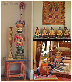 Desi-Dekor, ethnisch-indisches Dekor, Gujarati-Wohnkultur, Home Tour, indisch . Indian Room Decor, Ethnic Home Decor, Boho Home, Easy Home Decor, Home Decor Store, Decor Diy, Decor Ideas, Indian Home Design, Indian Home Interior