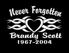 "Custom Vinyl Vehicle Memorial Decal 6/"" In Loving Memory Anchor"