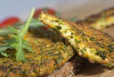 Ovesné placičky s brokolicí Broccoli, Spinach, Vegetable Recipes, Veggie Meals, Tandoori Chicken, Salmon Burgers, Diabetes, Cauliflower, Zucchini