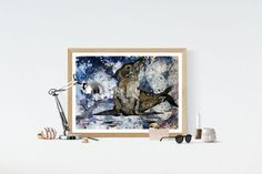 Buy Proud sea-dog, Acrylic painting by Silvie Tripes on Artfinder. Discover thousands of other original paintings, prints, sculptures and photography from independent artists.