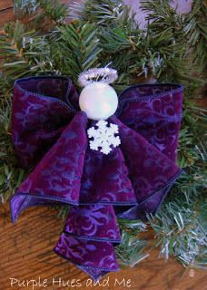 Purple Hues and Me: Ribbon Angel Ornament