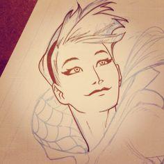 Spider-Gwen by Kris Anka