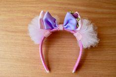 18 Inch Doll Rapunzel Ears Headband Doll Tulle Headband Handmade Tulle Headband Doll Princess Headband by RachelsHairBowtique on Etsy
