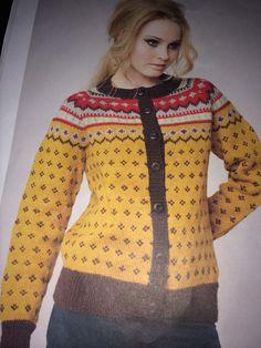 Tror jeg må strikke denne flere ganger .. Sweaters, Fashion, Moda, La Mode, Sweater, Fasion, Fashion Models, Trendy Fashion