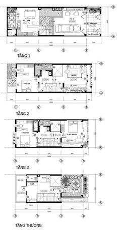 Nhà phố 60m2 riêng tư với hệ thống lam độc đáo | SotayNhadat.vn