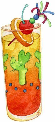 Mis Laminas para Decoupage (pág. 436) | Aprender manualidades es facilisimo.com New Year Printables, Cute Clipart, Collage, Color Pencil Art, Elements Of Art, Painting Patterns, Art Pictures, Art Pics, Summer Fun