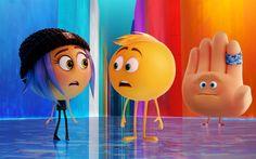 Scarica sfondi Jailbreak, Gene, Hi-5, 3d, animazione, 2017 film, Il Film Emoji