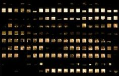 texture building highrise high rise new york facade office night